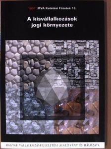 Ferenczy Endre - A kisvállalkozások jogi környezete [antikvár]