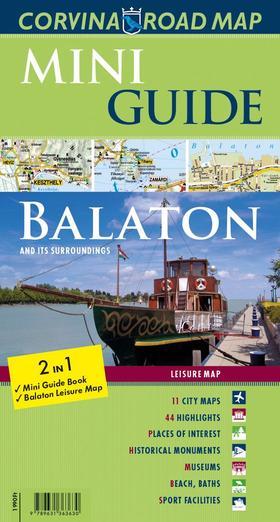 Mini Guide - Balaton (útikalauz és térkép)