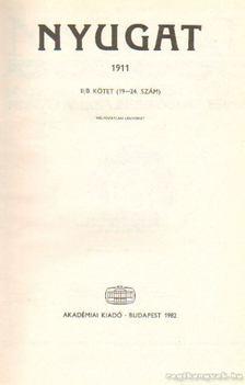 Ignotus - Nyugat 1911. II/B. kötet (19-24. szám) [antikvár]