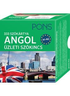 Klett Kiadó - PONS Szókártyák angol nyelvből (alcím: 333 szó Üzleti angol szókincs)
