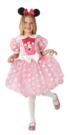 Rubies Minnie egér rózsaszín jelmez fülekkel L