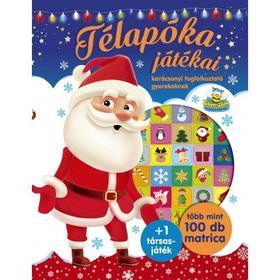 Szalay Könyvkiadó - Télapóka játékai - karácsonyi foglalkoztató gyerekeknek