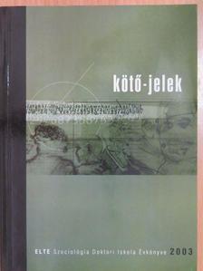Csizmadia Zoltán - Kötő-jelek 2003 [antikvár]