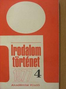 Buday György - Irodalomtörténet 1977/4. [antikvár]