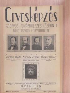 Boross József - Orvosképzés 1943. január - Különfüzet [antikvár]
