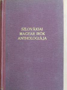 Ásguthy Erzsébet - Szlovákiai magyar irók anthologiája [antikvár]