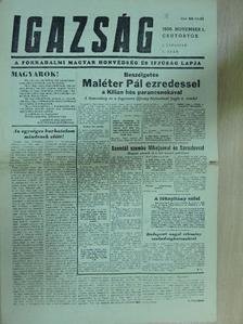 D. Szabó László - Igazság 1956. november 1. [antikvár]