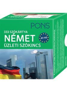 Klett Kiadó - PONS SZÓKÁRTYÁK - NÉMET ÜZLETI SZÓKINCS