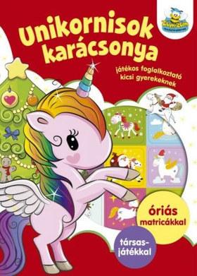 Szalay Könyvkiadó - Unikornisok karácsonya - Játékos foglalkoztató gyerekeknek