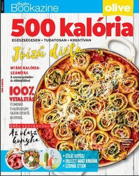 Palcsek Zsuzsanna - szerk. - 500 kalória- Gasztro Bookazine 2020/2