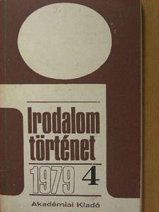 Bécsy Tamás - Irodalomtörténet 1979/4. [antikvár]