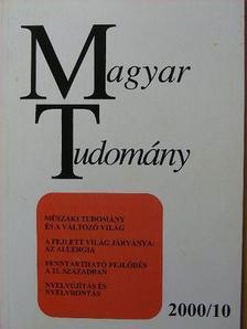 Ballagi Móricz - Magyar Tudomány 2000. október [antikvár]