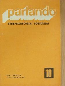 Bántai Vilmos - Parlando 1983. október [antikvár]