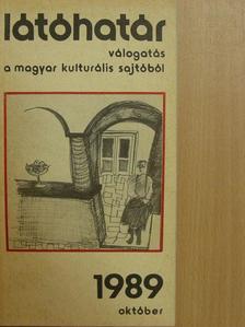 Aczél Géza - Látóhatár 1989. október [antikvár]