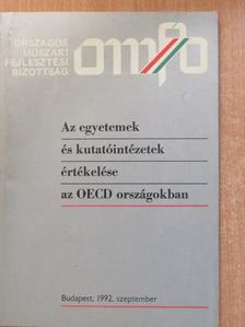 Jávorka Edit - Az egyetemek és kutatóintézetek értékelése az OECD országokban [antikvár]