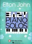 Elton John - ELTON JOHN : EASY PIANO SOLOS