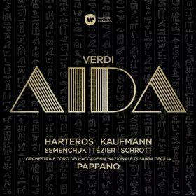 Verdi - AIDA 3CD KAUFMANN, HARTEROS PAPPANO