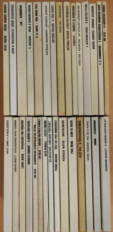 """Agatha Christie - """"30 kötet a Fekete Könyvek sorozatból (nem teljes sorozat)"""" [antikvár]"""