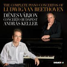 BEETHOVEN - COMPLETE PIANO CONCERTOS 3CD VÁRJON DÉNES