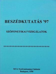 Bakró-Nagy Marianne - Beszédkutatás '97 [antikvár]