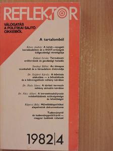 Balogh András - Reflektor 1982/4. [antikvár]