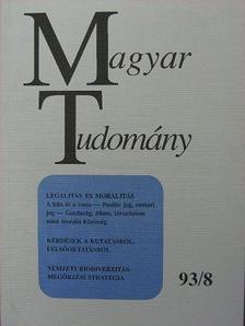 Agárdi Péter - Magyar Tudomány 1993. augusztus [antikvár]