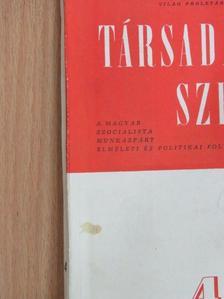 Fogarasi Béla - Társadalmi Szemle 1958. április [antikvár]
