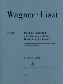 """WAGNER-LISZT - ISOLDENS LIEBESTOD AUS """"TRISTAN UND ISOLDE"""" BEARB. FÜR KLAVIER (D. RAHMER - F.LISZT)"""