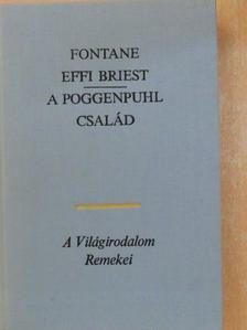 Theodor Fontane - Effi Briest/A Poggenpuhl család [antikvár]