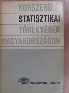 Árvay János - Korszerű statisztikai törekvések Magyarországon [antikvár]