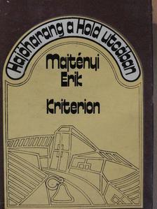 Majtényi Erik - Hajóharang a Hold utcában [antikvár]