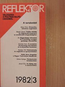 Ágh Attila - Reflektor 1982/3. [antikvár]
