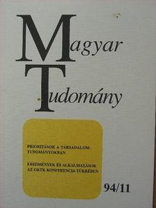 A. Anzerbacher - Magyar Tudomány 1994. november [antikvár]
