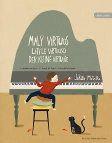 METELKA, JAKUB - LITTLE VIRTUOSO. 15 PIECES FOR PIANO