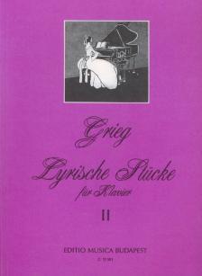 GRIEG - LYRISCHE STÜCKE FÜR KLAVIER BAND II: OP.57,62,65,68,71 (HÉRA-SÁRMAI)