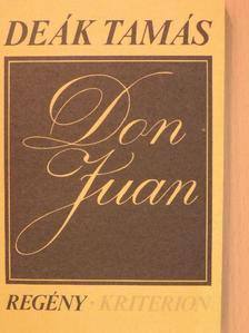 Deák Tamás - Don Juan [antikvár]