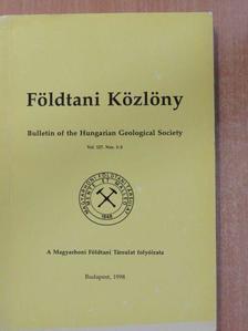 Bárdossy György - Földtani Közlöny 1997/1-4. [antikvár]