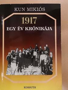 Alekszandr Sotman - 1917 - Egy év krónikája [antikvár]