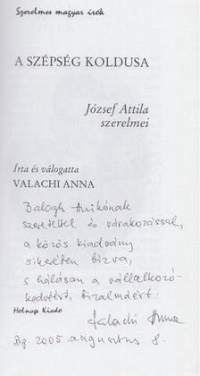 Valachi Anna - A szépség koldusa (Dedikált) [antikvár]
