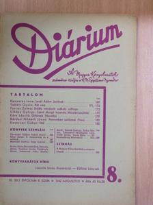 Bárdosi Németh János - Diárium 1942. augusztus [antikvár]