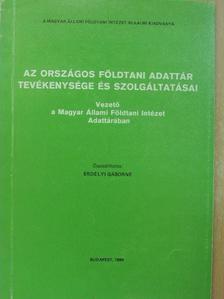 Bognárné Beviz Jolán - Az Országos Földtani Adattár tevékenysége és szolgáltatásai [antikvár]