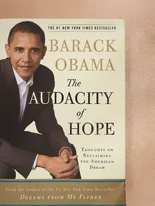 Barack Obama - The audacity of Hope [antikvár]