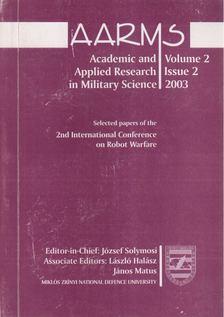 Solymosi József - AARMS Volume 2, Issue 2 - 2003 [antikvár]