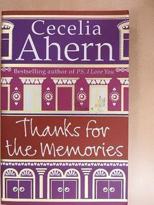 Cecelia Ahern - Thanks for the Memories [antikvár]