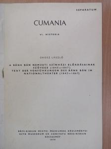 Orosz László - A Bánk bán Nemzeti Színházi előadásainak szövege (1845-1867) [antikvár]