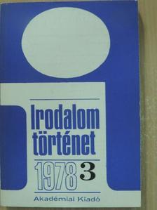 Bárdos Judit - Irodalomtörténet 1978/3. [antikvár]