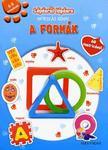 Lépésről lépésre matricás könyv - A formák4-5 éveseknek - 60 matricával