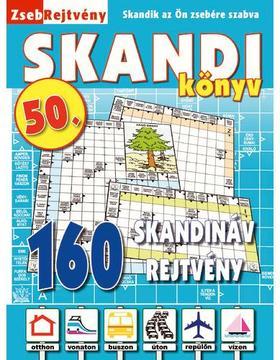 CSOSCH KIADÓ - ZsebRejtvény SKANDI Könyv 50.