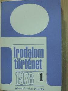 Bárdos Judit - Irodalomtörténet 1978/1. [antikvár]