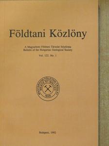 Balogh Kálmán - Földtani Közlöny 1992/1. [antikvár]